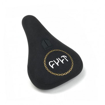 SELLE BMX PIVOTAL CULT CHAIN LOGO BLACK