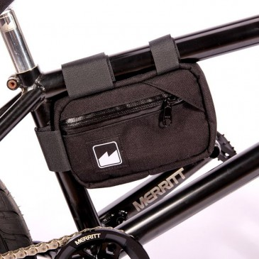 MERRITT BMX FRAME BAG BLACK