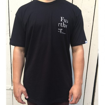 TSHIRT FURTHER BLACK