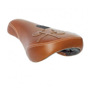 SELLE BMX DEMOLITION AXES 2 BROWN