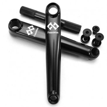 PEDALIER BMX FOUNDATION SHORTY SYNDICATE 165mm ED BLACK