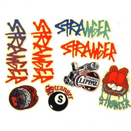 PACK DE STICKERS STRANGER