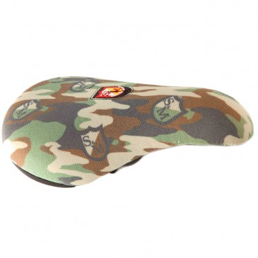 SELLE S&M BMX FAT CAMO SHIELD