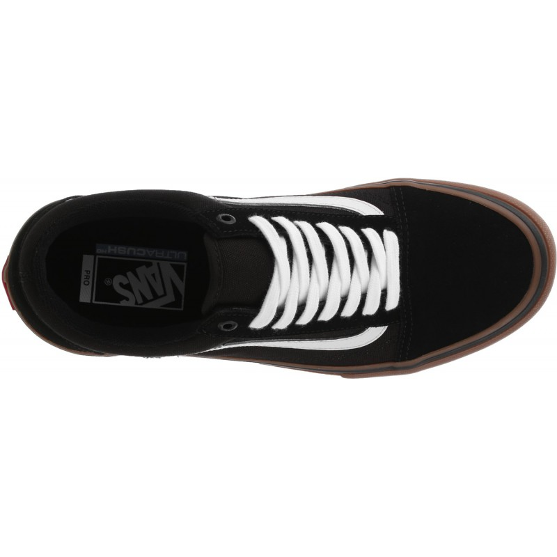 VANS OLD SKOOL PRO BLACK GUM BROS BIKE STORE
