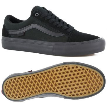 VANS OLD SCHOOL PRO BLACK GUM