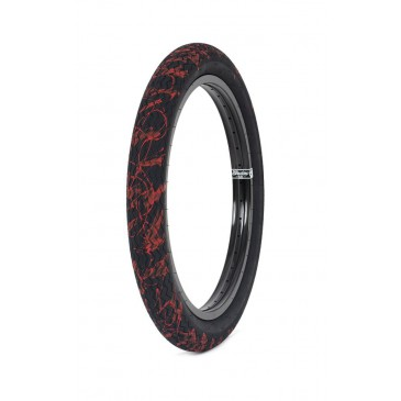 PNEU BMX SUBROSA SAWTOOTH BLOOD SPLATTER