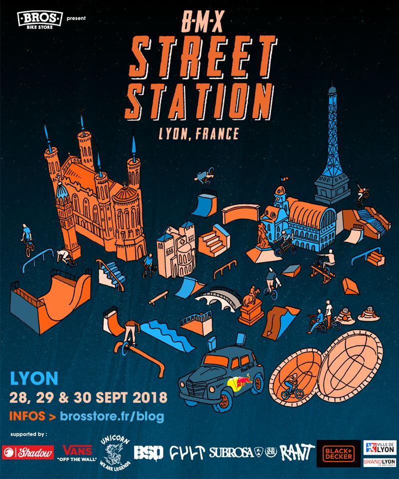BMX STREET STATION 2018