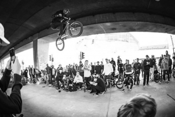 GALERIE PHOTO DE WES MCGRATH - BMX STREET STATION 2018